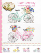 Crab-Apple Hill Girls' Getaway #4 Bicycles and Lace Pattern