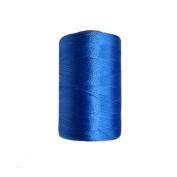 Silk Yarn Machine Hand Embroidery Art Craft Activity Blue Thread 10 Spools DIY Wholesale Supplies