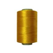 Yellow Silk Yarn Machine Hand Embroidery Art Craft Activity Thread 10 Spools DIY Wholesale Supplies