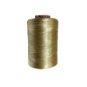Silk Beige Yarn Machine Hand Embroidery Art Craft Activity Thread 10 Spools DIY Wholesale Supplies