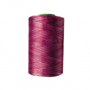 Magenta & White Shade Silk Yarn Machine Hand Embroidery Art Craft Activity Thread 10 Spools DIY Wholesale Supplies