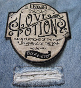 Old Faithful No. 9 Love Potion for Afflictions of the Heart Ensnaring the Soul Sew On Patch