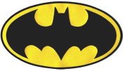 BATMAN Bat-Wing Classic Logo Large 27cm Wide Embroidered Patch
