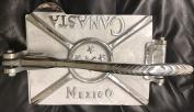 Mexican Cast Aluminium Canasta Professional Restaurant Quality Tortilla Maker Mexico 20cm x 28cm