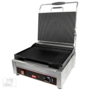 Cecilware (SG1 Fits LG 240) - 50cm Grooved Sandwich/Panini Grill
