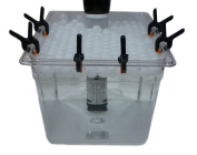 Sous Vide Container, Clips, Floating Ball Cover Kit Bundle (Medium) For Anova and Joule Cookers