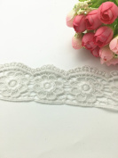 5CM Width Flower door trims pattern Inelastic Embroidery Trims,Curtain Tablecloth Slipcover Bridal DIY Clothing/Accessories.(4 yards in one package)