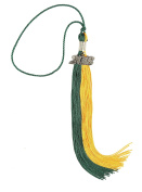 MyGradDay Two-Coloured Graduation Tassel with Gold 2018 Year Charm