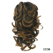 PrettyWit 60cm Ponytail Big Wave Clip in on Pony Tail Hair Extensions Hairpiece Wig Jaw Claw