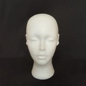 Female Foam Mannequin Head Manikin Model Cap Hat Wig Shop Display Holder Stand