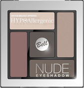Bell HYPOAllergenic NUDE Eye Shadow Palette No. 01 Ophthalmologist Approved