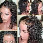 Pre Plucked Full Lace Wigs for Black Women Curly Glueless Full Lace Human Hair Wigs with Baby Hair