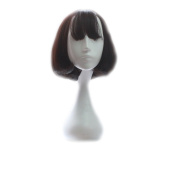 sunshine Susie Short Wig Women's Straight Synthetic Wigs with Free Wig Cap