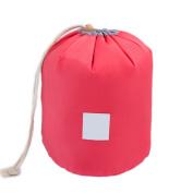 Raylans Portable Travel Bag Makeup Bag Cosmetic Organiser Storage Bag Bucket Toiletry Bag Watermelon Red