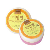 Aloe Vera Korea Essential Foot cream Supporting cracked heels and removing dead skin cells 70ml