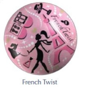 French Twist Twist and Pout Lip Balm Ball