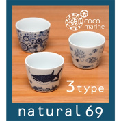 To a present and the gift of the natural 69 wedding ceremony! Tableware fashion family celebration Hasami firing natural69 cocomarine cup North Europe tableware cup for soba soup North Europe Hizen ware