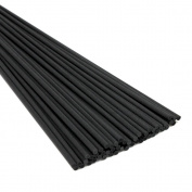 Fibre Reeds Diffuser Replacement Sticks 12 X 0.12Inches/3mm-Black