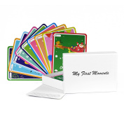 My First Moments Perfect Baby Milestone Landmark Cards 38 Cute Illustrated Cards Milestone Baby Cards Perfect for Baby Showers Gifts and Presents Baby Milestone Cards