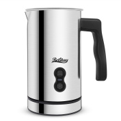 Betitay Milk Frother for Hot Milk and Cappuccino , Strix Controller System Milk Warmer and Coffee Foam Maker with Non-stick Coating