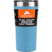 Ozark Trail 590ml Double-Wall Vacuum-Sealed Powder Coated Blue Tumbler