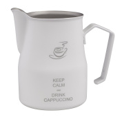 Motta MO-8724/75 Keep Calm Frothing Pitcher, 75ml, White