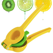 Lemon Squeezer E'YOBE Double Layer Stainless Steel Citrus Juicer Manual Lime Squeezer Press