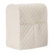LIAMTU Stand Mixer Cover Large Size Dust-proof Satin Sheen Fabric Fits All Tilt Head & Bowl Lift Models for KitchenAid, Sunbeam, Cuisinart, Hamilton Beach Mixers