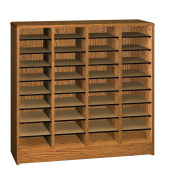 Ironwood Literature Organiser with 36 Compartment, Dixie Oak