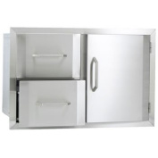 Urban Islands Stainless Steel Door and Drawer Combination By Bull Outdoor Products