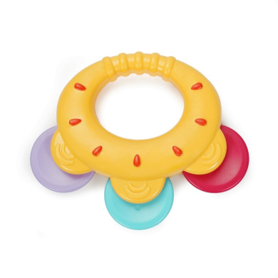 KONIG KIDS Baby Rattle Shake Bell Hand Toy for Newborn 3 Months + Multicolor