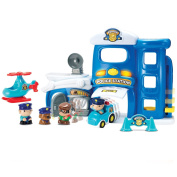Police Metro Force City Station Play Set