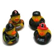 Fun Express Firefighter Fireman Fire Fighter Hero Rubber Ducks