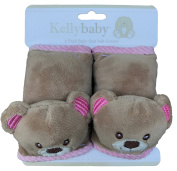 Pink Bear seat belt,infant carseat strap covers for travel and comfort, plus protection from strap burn in carseat and s