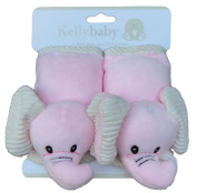Pink Elephant seat belt,infant carseat strap covers for travel and comfort, plus protection from strap burn in carseat and s