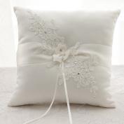 Rimobul Wedding Ring Pillow 21cm x 21cm - Ivory