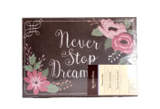 Recollections Never Stop Dreaming Flowers Photo Album Memory Storage Box -4 3/8 x 7 7/8 x 11 3/8 …