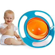 Itian Baby 360 Dgree Rotation Tableware Gyro bowl Toy bowl Spill-proof Bowl