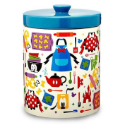Disney Mickey Mouse and Friends Colourful Kitchen Print Cookie Jar