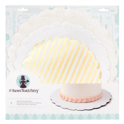 American Crafts Sweet Tooth Fairy Accessories Serving Platters Gold