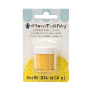American Crafts Sweet Tooth Fairy Sprinkle Magic Colour Dust Yellow