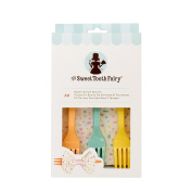 American Crafts Sweet Tooth Fairy Accessories Napkin and Fork Bow Kit Colour