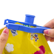 Household Plastic Sealing Bag Discharge Nozzle Seal The Food Tube Sealing Clip Seal Clip Trumpet Kitchen Tools