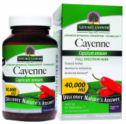 Nature's Answer Cayenne Pepper Fruit 90 Vegcaps