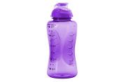 Smash PP Shaker Drink Bottle with Water Timings, Purple, 750 ml