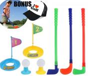 Outdoor Golf Parent-Child Interaction Game Kid Plastic Golf Toys Set