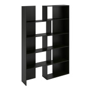 Altra Transform Expandable Bookcase, Midnight Onyx
