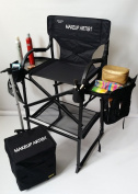 MU2R Unique Tuscany Pro Makeup / Hair Chair New Arrival-high Quality Product--60cm Seat Height