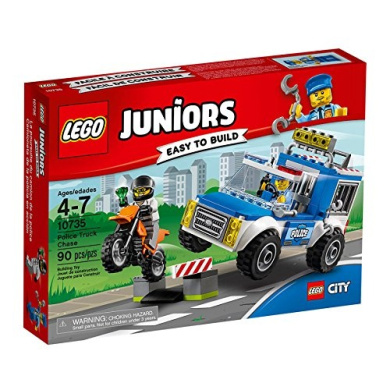 LEGO Juniors Police Truck Chase, Imaginative Toys, 2017 Christmas Toys