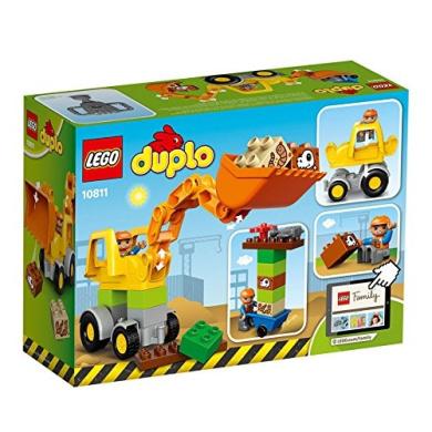 LEGO DUPLO - Backhoe Loader, Imaginative Toys, 2017 Christmas Toys